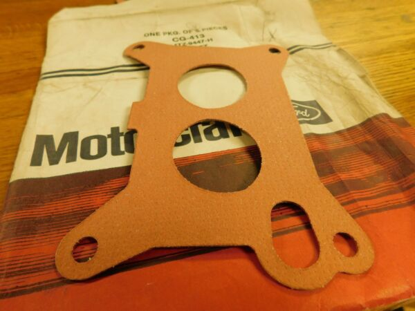 NOS 1974 1975 FORD F100 F250 F350 360 390 CARB SPACER GASKET D4TZ 9447 H NEW $6.99