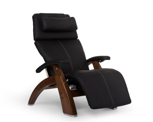 PC-610 Human Touch Perfect Chair Black Leather Jade Heat Memory Foam Back Cover