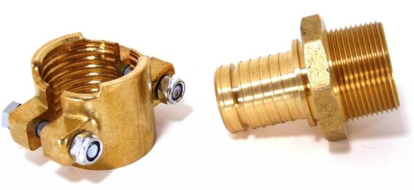 Central Boiler Outdoor Wood Boiler Brass Clamp Fittings For 1