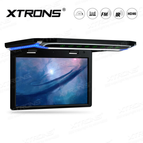 10.2quot; Ultra thin TFT Car SUV TRUCK Flip Down Roof Mount Monitor With HDMI Port $129.99