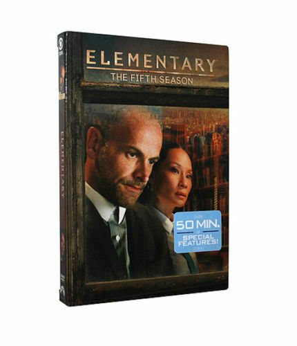 Elementary: Fifth Season 5 (DVD, 2017, 6-Disc Set) - Brand New