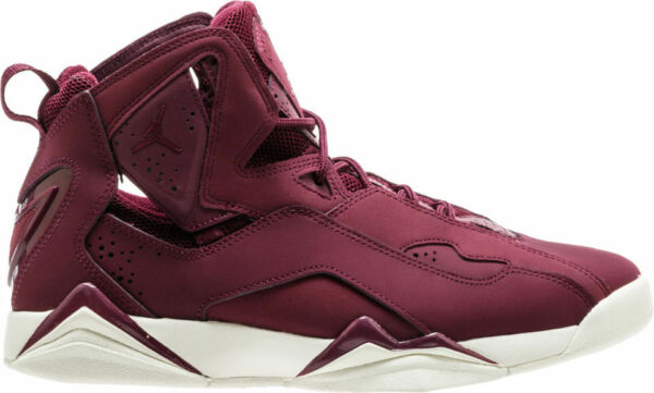 New Men's Air Jordan True Flight Shoes (342964-625)  Bordeaux//Bordeaux-Sail