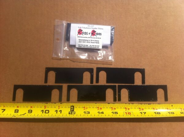 1955-1957 Chevrolet Grille Support Shims