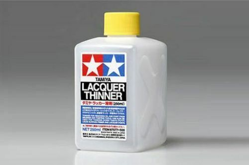 Tamiya THINNER Hobby Model Paint LACQUER Thinner 250ml 87077