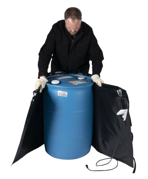 55 Gallon Drum Heating Blanket - Barrel Heater - Powerblanket Lite - PBL55F