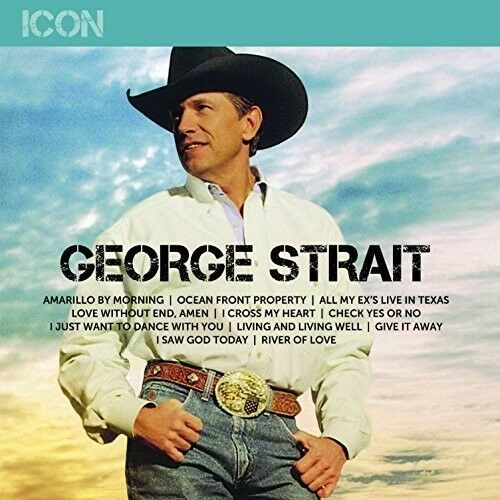 George Strait Icon New Vinyl LP