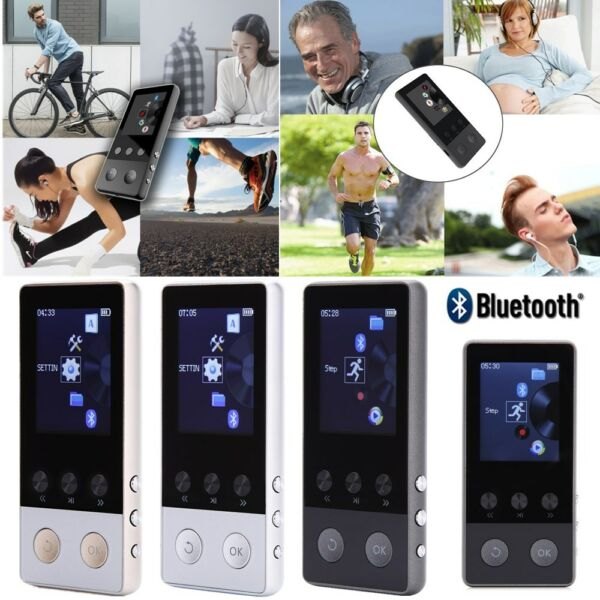 Portable Multifunction Lossless Sound Music Bluetooth MP3 Player Support 64GB