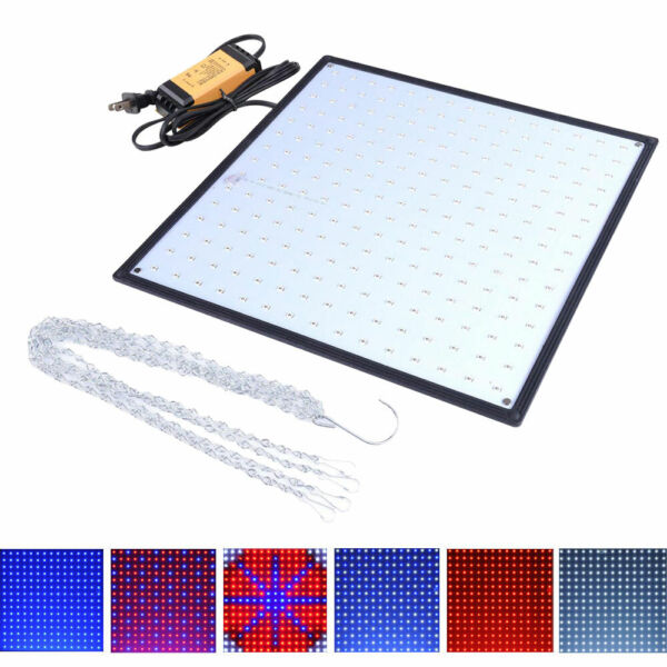 225 LED Grow Light Lamp Ultrathin Panel UFO SMD Bulbs Indoor Plant Veg Flower
