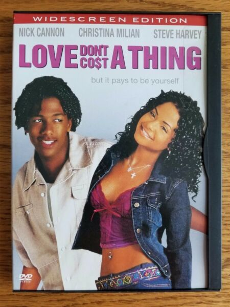 Love Dont Cost a Thing Nick Cannon Christina Milian DVD 2004 Widescreen $4.99