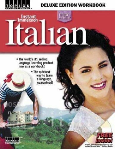 Instant Immersion Italian Workbook by Topics Entertainment Staff $4.14