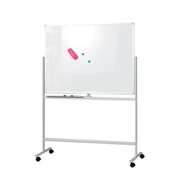 Mobile Whiteboard Magnetic Dry Erase Board 47