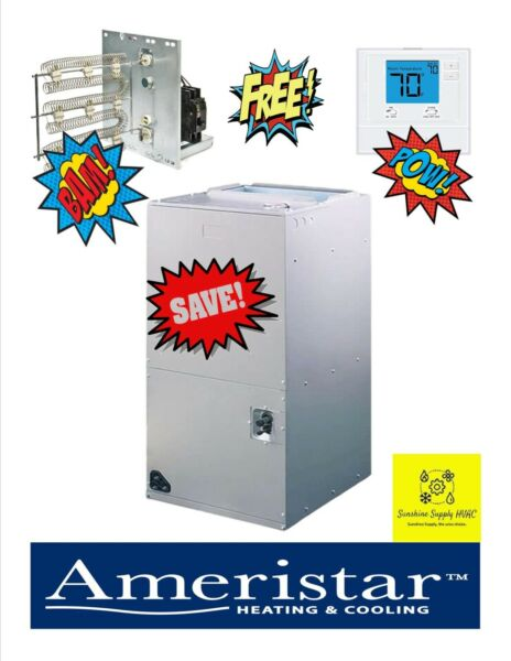 Ameristar by Trane 2 ton air handler M4AH4025A1 FREE THERMOSTAT AND HEATER $700.00