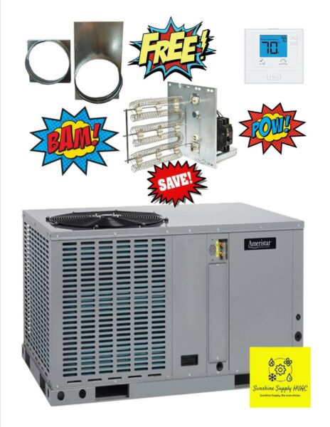 Ameristar 4 ton heat pump package unit M4PH4048A1
