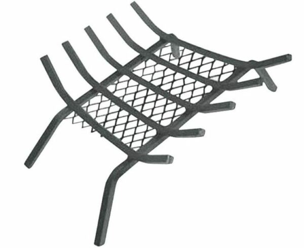 Homebasix LTFG-W23 Fireplace Grate With Ember Retainer 23