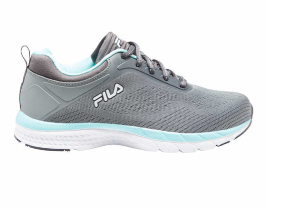 NEW Fila Womens Sneakers with Memory Foam. Gray Athletic Tennis Shoes Pick Size