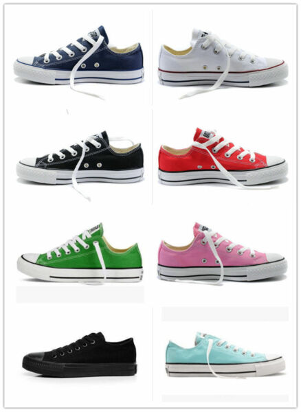 2018 HOT! Women Man ALL STARs Chuck Taylor Ox Low High Top shoes Canvas Sneakers