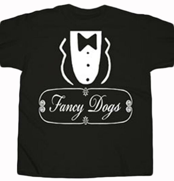 Sausage Party Fancy Dogs Costume Tuxedo Adult T Shirt Comedy Movie Seth Rog $21.99