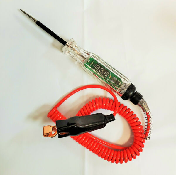 3V-24V Digital Electric Circuit Tester Test Light Car Boat Trailer RV Snowmobile