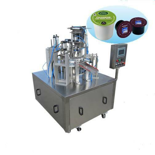 BAP Auto K-cup Filling and Sealing Machine- 1200 cup hr for K-cup or Nespresso