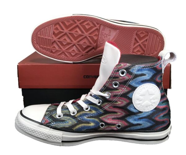 Converse by Missoni Chuck Taylor All Star High Top Glitter RED/BLUE 151254C