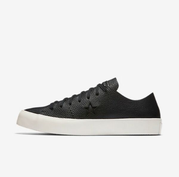 CONVERSE ONE STAR PRIME BLACK LEATHER UNISEX 154838C