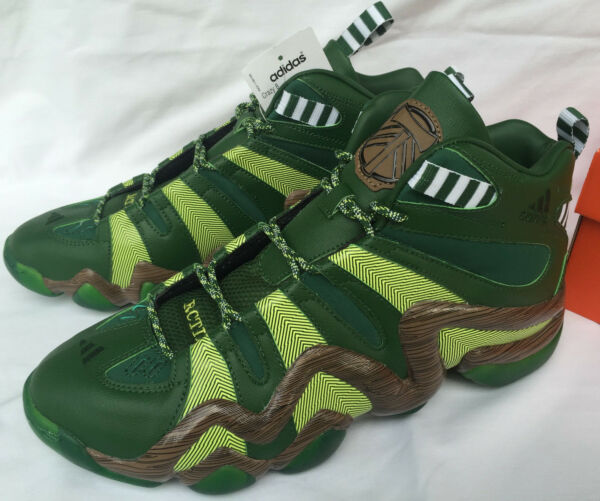 Adidas Crazy 8 Portland Timbers D69033 MLS Ponderosa Basketball Shoes Men's 10