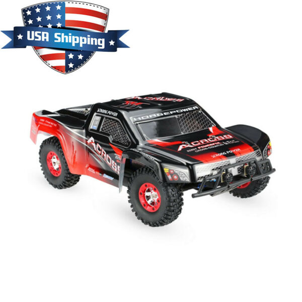 WLToys 12423 2.4G 4WD 1/12 Scale Remote Control RC Short Course Truck Car RTR