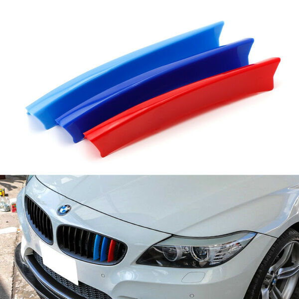 M-Color Grille Insert Trims For 2009-16 BMW E89 Z4 w 9 Standard Grille Beams