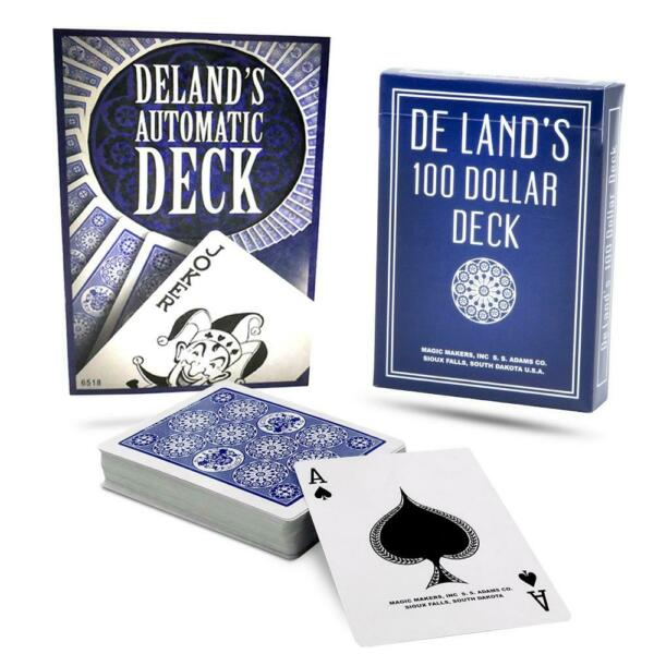 Magic Deland's Marked Deck - Automatic Deck in Blue $15.97