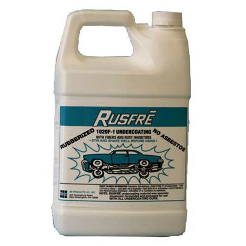 Rusfre 1020F6 Rubberized Spray On Undercoating Black RUS1020F6