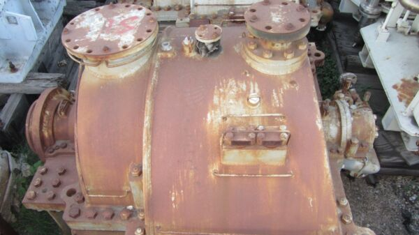"""Westinghouse Steam Turbine 3100HP 26psi Inlet At 725°F Exhausting To 2.5"""" Hg Abs"""