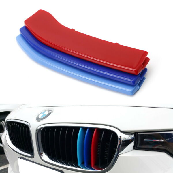 M-Color Grille Insert Trims For 14-up BMW 2 Series w 11-Beam Standard Grill