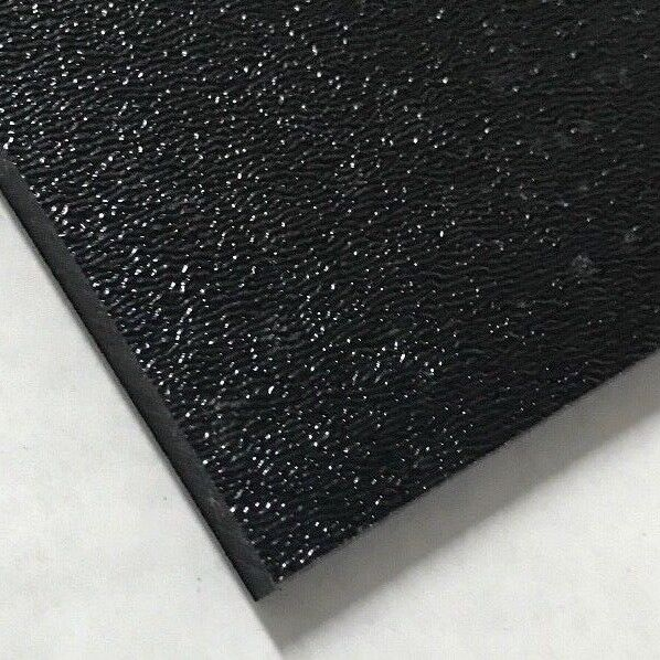 """ABS Black Plastic Sheet 1 8"""" .125quot; You Pick The Size Vacuum Forming"""