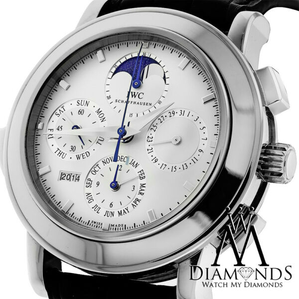 IWC Minute Repeater Grande Complication Platinum Limited Watch Ref.3770 Complete