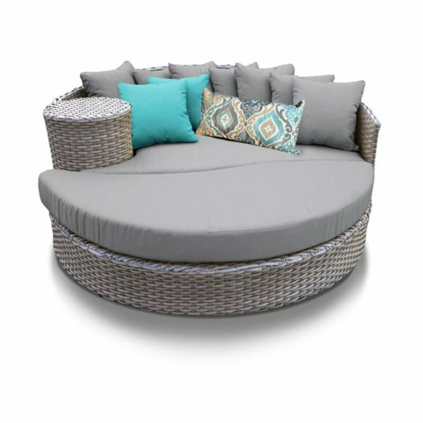 TKC Oasis Round Patio Wicker Daybed $1134.14