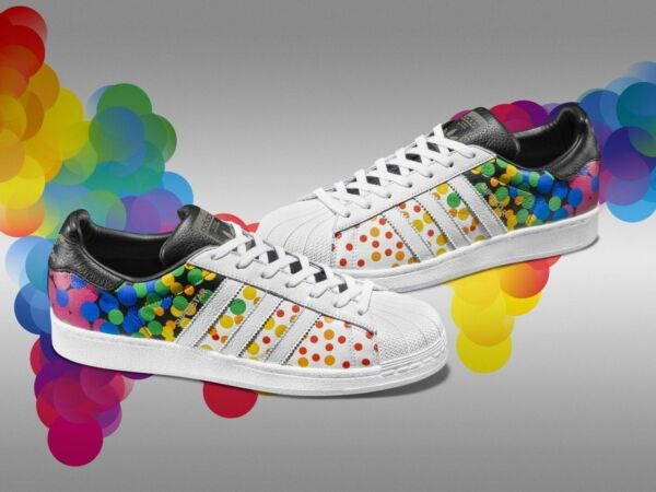 NEW MENS ADIDAS SUPERSTAR PRIDE PACK SNEAKERS CM7802-SHOES-MULTIPLE SIZES