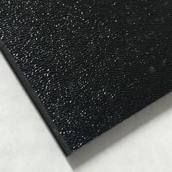 """ABS Black Plastic Sheet 0.236"""" 1 4"""" You Pick The Size Vacuum Forming"""