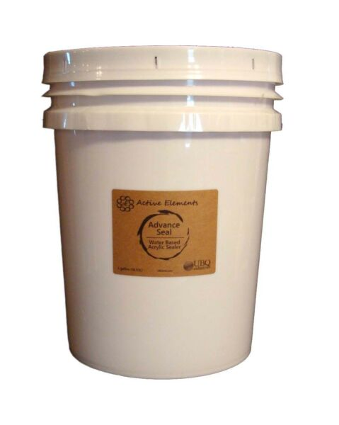 Official Concrete Floor Sealer • Advance Seal • 5 Gallon bucket• Interior Sealer
