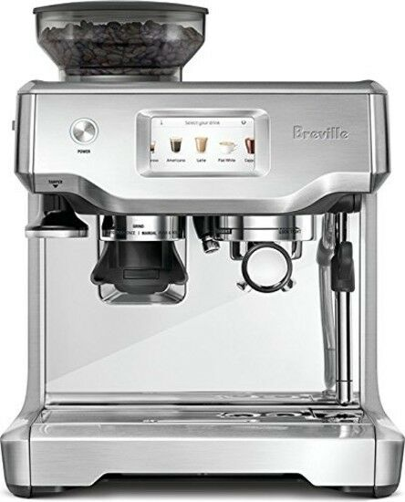 Breville Barista Touch Espresso Machine Coffee Maker Grind Brew Milk Coffeehouse