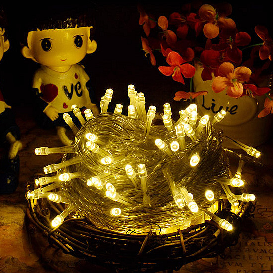 40 LED Strings Lights Battery Operated Waterproof Party Xmas Wedding Decor