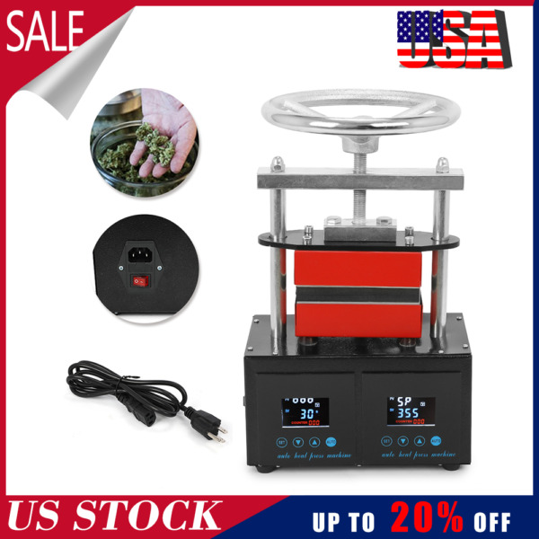 Professional Rosin Press Heat Press Machine Hand Crank 2.4