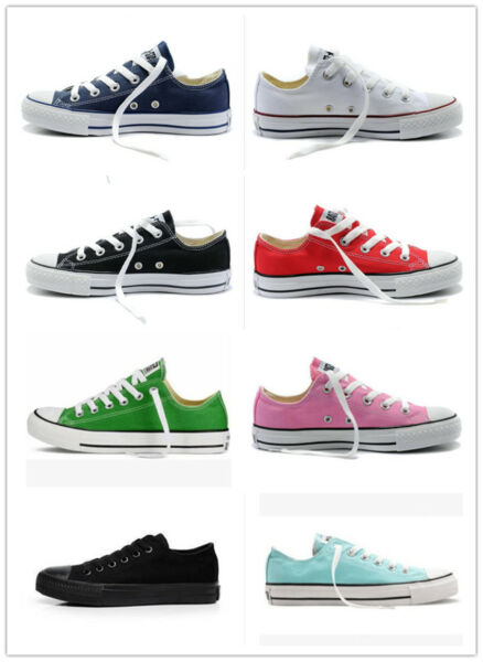 Women Man ALL STARs Chuck Taylor Ox Low High Top shoes casual Canvas Sneakers WH