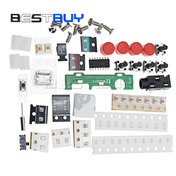 DIY Stereo Radio Kit 76-108Mhz Frequency 180mAh Production Electronic BBC