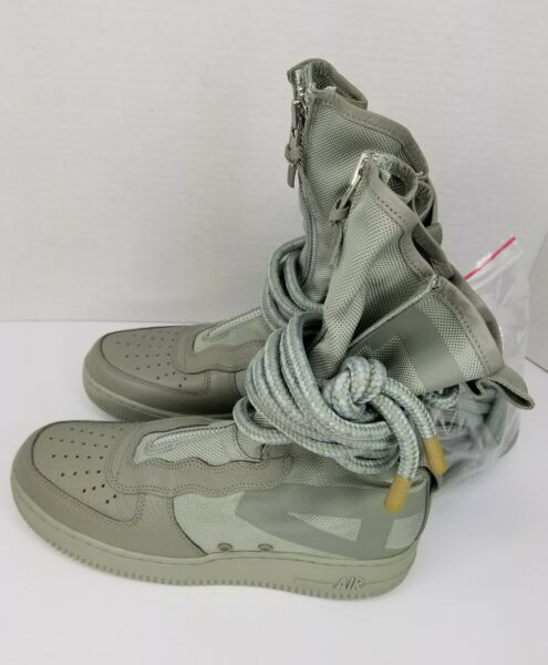 Mens Nike Special Field Air Force One 1 High AA1128-201 Size 8.5 Sage- Sage NWOB