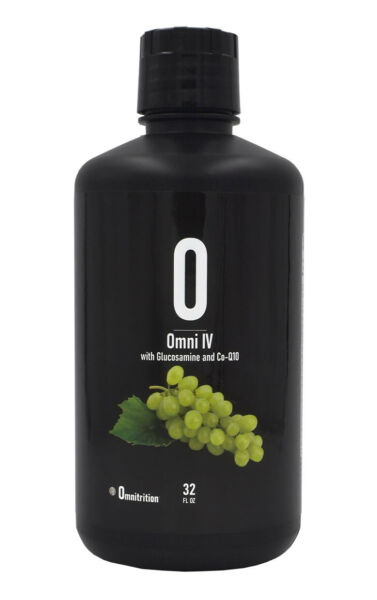 Omnitrition OMNI IV with Glucosamine and Co Q10 Liquid Vitamin Supplement