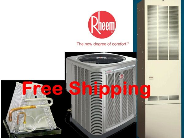 4 Ton R-410A 14SEER Mobile Home Gas Heating System Condenser  G Furnace Coil