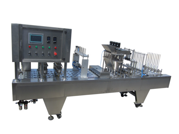 BAP Auto Inline K-cup Filling and Sealing Machine- 4800 cup hr