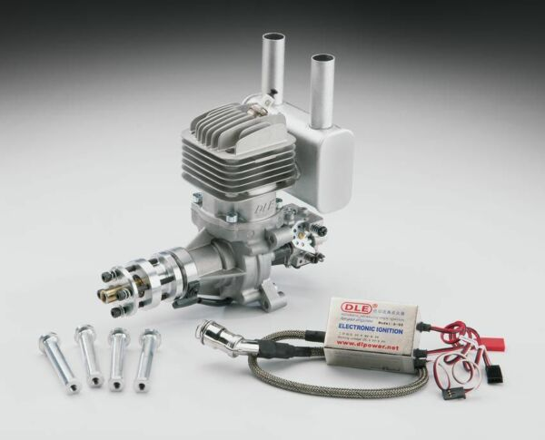 DLE35RA DLE Engines DLE-35RA Rear Exhaust Gasoline Engine w/EI & Muffler