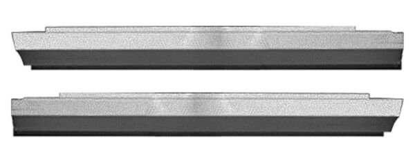 OUTER ROCKER PANELS FORD EDSEL GALAXIE 1959 60 2DR PAIR! FREE SHIPPING!