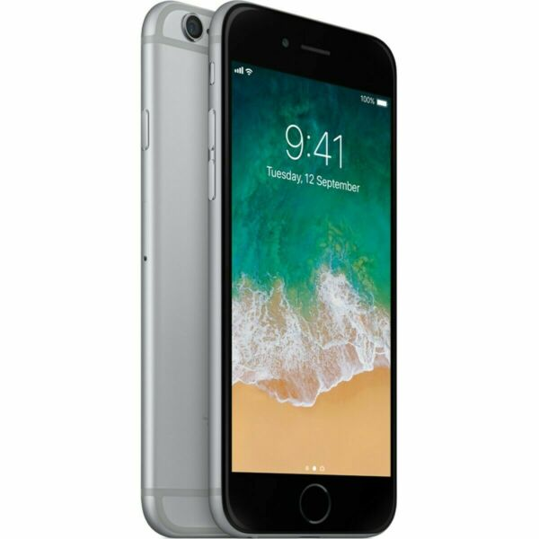 Apple iPhone 6 - 16GB - Space Gray (Factory Unlocked AT&T, T-Mobile, Metro PCS)